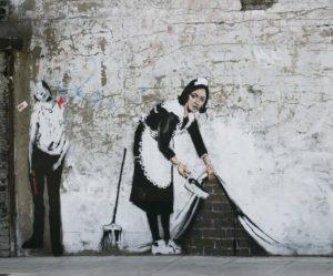 Keep-it-spotless-Banksy Doe Museum Prins Bernhardhoeve