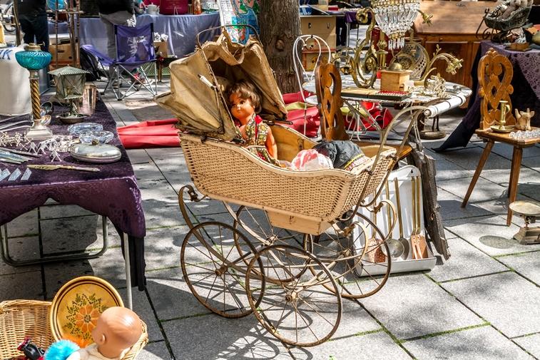 Doe Museum kinderwagen